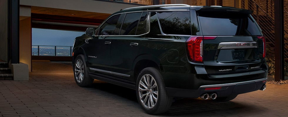 Introducing the all-new GMC Yukon full size SUV